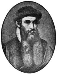 Me llamo...Johannes Gutenberg